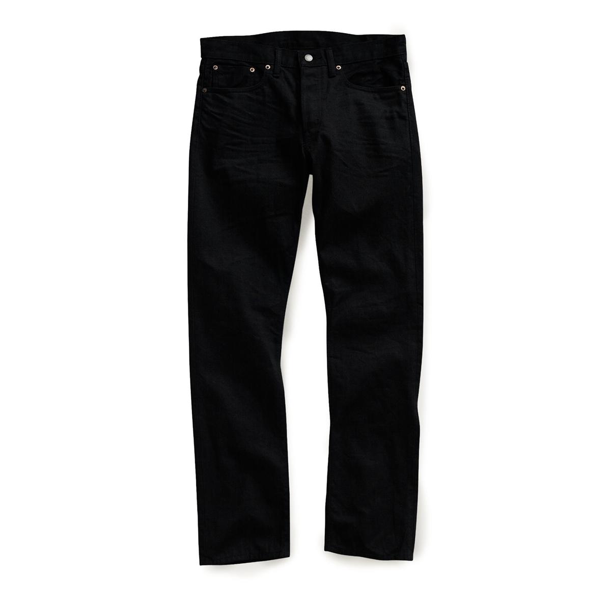 1fa52e1c1aa0 Ralph Lauren RRL Slim Fit Selvedge Denim Jeans New Black on Black Wash Size  29-Premium Denim