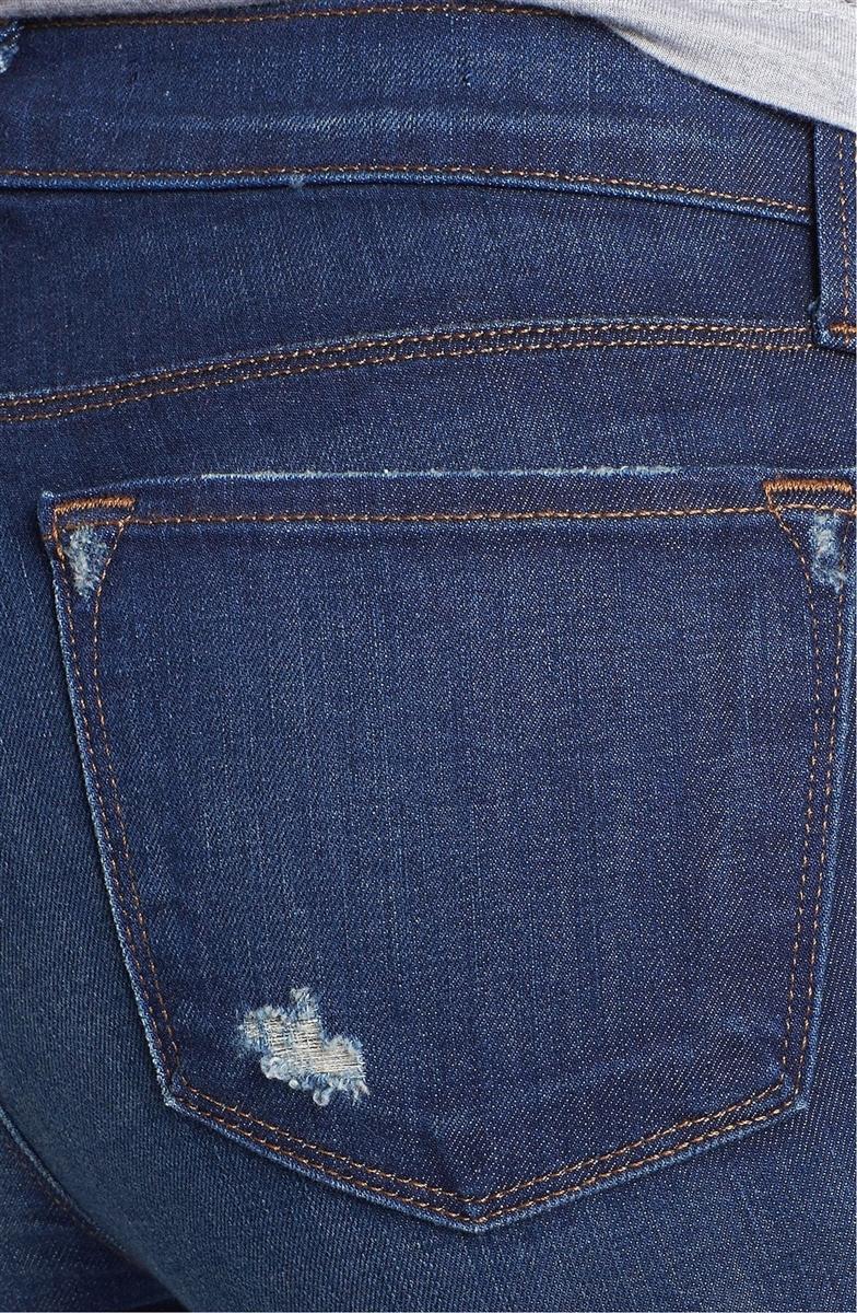 6810baad0c50 J brand rail skinny jean alta distressed blue - Premium Denim