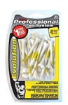 "Pride Evolution 2 3/4"" Yellow Golf Tees"