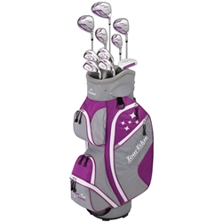Tour Edge Lady Edge Complete Full Set - Violet/White