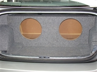BMW 3 Series Accord Single / Dual Subwoofer Box