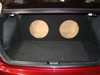 Honda Civic  Single / Dual Subwoofer Box