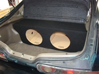 Acura Integra Single / Dual Subwoofer Box