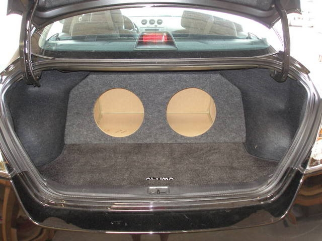 custom fitting car and truck subwoofer boxesnissan altima subwoofer box