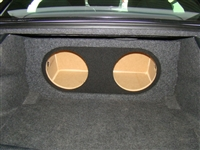 Chrysler 300 Single / Dual Subwoofer Box