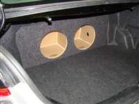 Toyota Camry Single / Dual Subwoofer Box