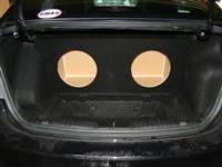 Chevrolet Cruze Single / Dual Subwoofer Box