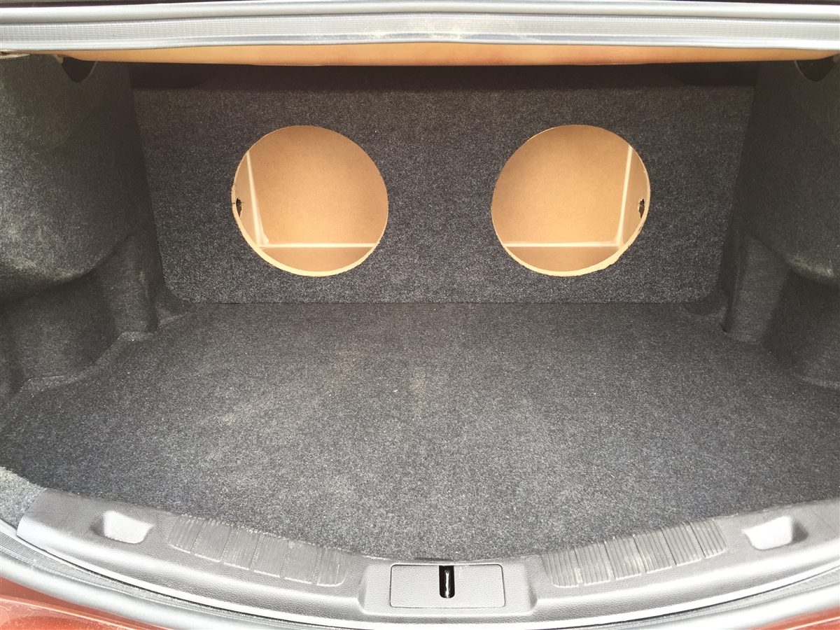 Ford Fusion 2013-2016 Single / Dual Subwoofer Box