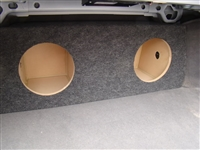 Pontiac Grand Prix   Single / Dual Subwoofer Box