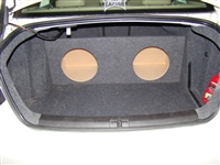 VW Volkswagon Jetta  Single / Dual Subwoofer Box