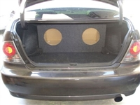 Lexus IS300  Single / Dual Subwoofer Box