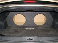 Chevrolet Malibu Single / Dual Subwoofer Box