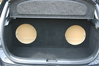 Mazda 3  Single / Dual Subwoofer Box