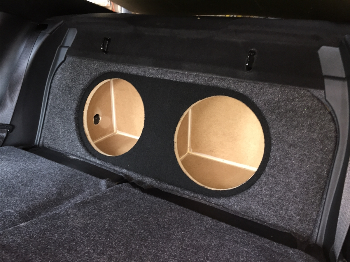 Ford Mustang Single Dual Subwoofer Box