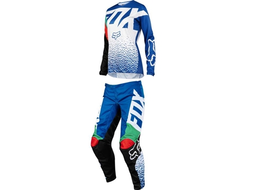 77b1d1c85c6 Fox Racing 2018 Womens 180 Combo Jersey Pant - Blue