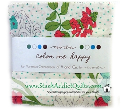 "Color Me Happy 5"" Charm Squares"