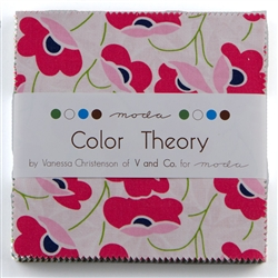 "Color Theory 5"" Charm Squares"