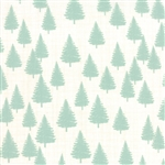 Winterberry Forest Snow Mint Yardage
