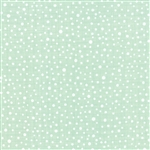 Winterberry Cable Snowy Dot Mint Yardage