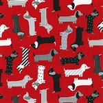 Urban Zoologie Red Yardage