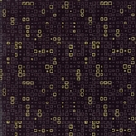 Modern Background Luster Metallic Black Tiles Yardage