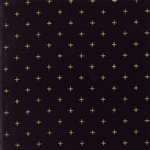Modern Background Luster Metallic Black Positive Yardage