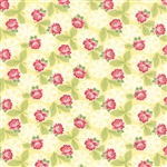 Ambleside Sunbeams Lacy Daisy Rose Yardage