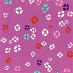 Mochi Dark Plum Hot Cross Buns Yardage