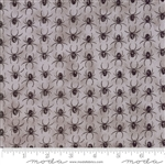 Eerily Elegant Wicked Grey Spider Parade Yardage