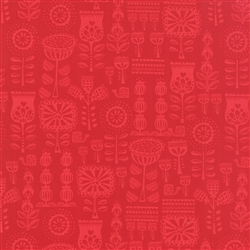 Lil' Red Red Grandma's Wallpaper Yardage