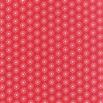 Lil' Red Red Spinning Tulips Yardage