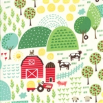 Farm Fun Milk Farm Fun Yardage