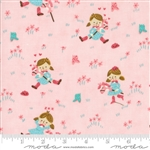 Howdy Pink A Gal's Best Friend Yardage