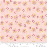 Howdy Pink Horseshoe Dreams Yardage
