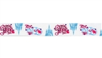 Frozen Names Ribbon 1in x 3yds