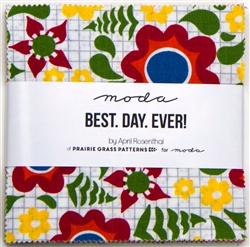 "Best Day Ever 5"" Charm Squares"