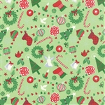 Jingle Cedar Rejoice Yardage
