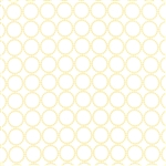 Sundrops White Circled Yardage