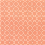 Sundrops Coral Circled Yardage