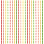 Sundrops Multi Beaded Stripe Yardage