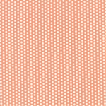 Sundrops Coral Dotted Yardage