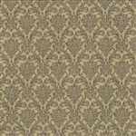 Basicgrey Floral Damask Best Dressed Tan Yardage