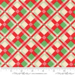Swell Christmas Red-Green Plaid 31122-11