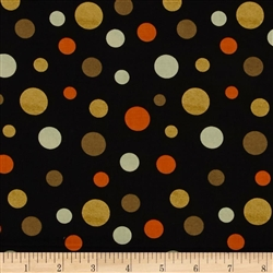Cheeky Wee Pumpkins Dots Black