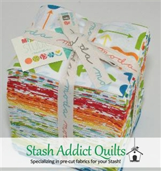 Mixed Bag Bruhed Fat Quarter Bundle
