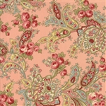 Roses & Chocolate II Floral Foulards Roses Rose