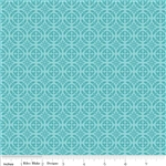Unforgettable Blue Damask Yardage