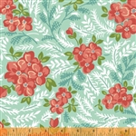 Hazel Mint Large Floral Yardage