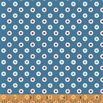 Hazel Blue Dot Yardage