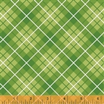 Hazel Green Plaid Yardage